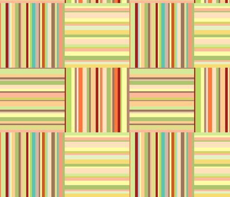 Sunny stripes fabric by stewsha on Spoonflower - custom fabric
