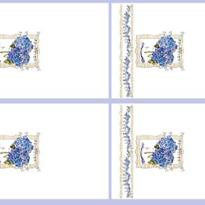 French Hydrangeas dishtowels
