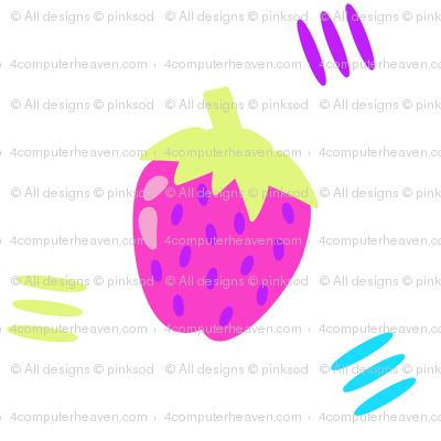 Berry Sweet Strawberry! - Summer's Call - © PinkSodaPop 4ComputerHeaven.com