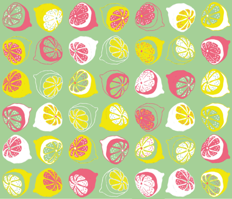 tendernesscitrus fabric by five_to_six_prints on Spoonflower - custom fabric