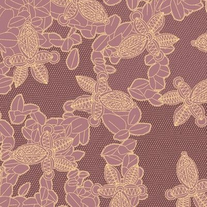 African Lace in Orchid