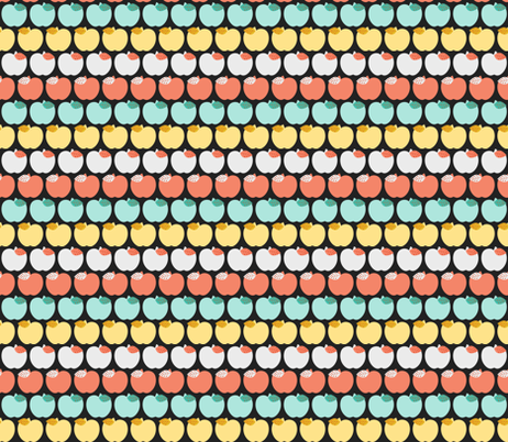 Summer Apples fabric by natitys on Spoonflower - custom fabric