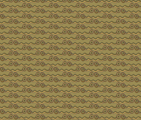 watercourse - muddy stripes - small 500 fabric by wiccked on Spoonflower - custom fabric