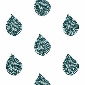 Falling Leaf Indigo