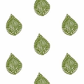 Falling Leaf Moss