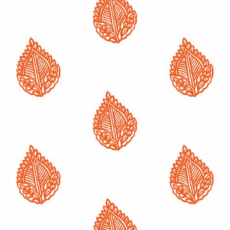 Falling Leaf Bonfire fabric by frocklove on Spoonflower - custom fabric