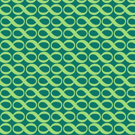 serenity infinity - pine fabric by weavingmajor on Spoonflower - custom fabric