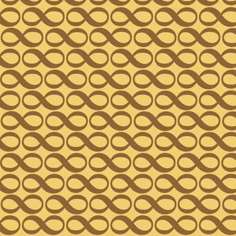 serenity infinity - wheat fabric by weavingmajor on Spoonflower - custom fabric