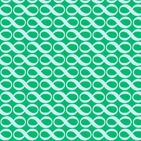 serenity infinity - cool mint fabric by weavingmajor on Spoonflower - custom fabric