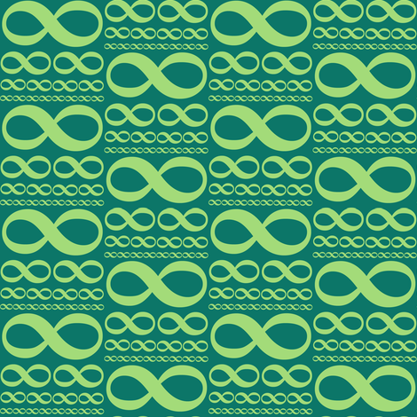 infinitiki in pine fabric by weavingmajor on Spoonflower - custom fabric