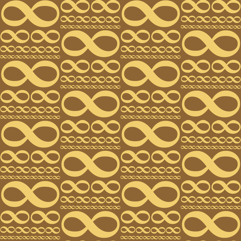 infinitiki gold fabric by weavingmajor on Spoonflower - custom fabric