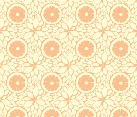 Ginger Lemonade fabric by audsbodkin on Spoonflower - custom fabric