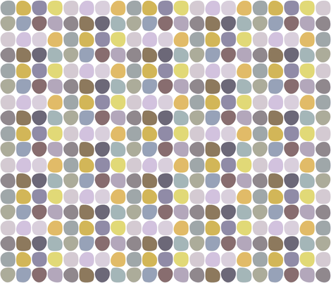 river pebbles fabric by kurtcyr on Spoonflower - custom fabric