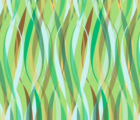 sinuous serenity synergy0004 fabric by glimmericks on Spoonflower - custom fabric