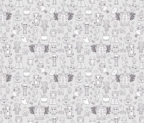 Rhappy_halloween-characters_2015_pattern_white-_shop_preview