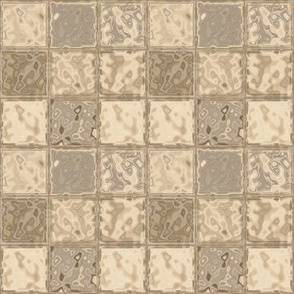 Beige Faux Tiles © Gingezel™ 2013
