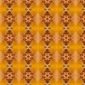 Gold Mirage - Damask Stripes
