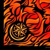 Eridu Flames Bandana