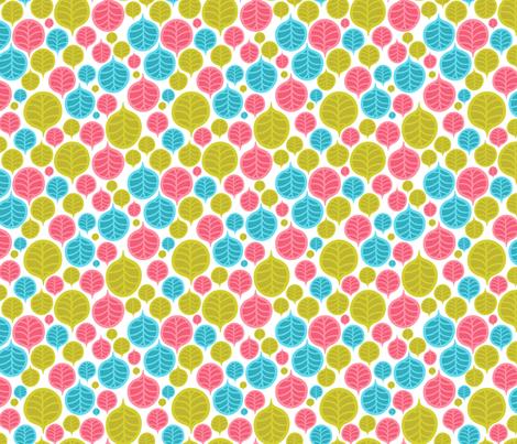 leaf color pattern fabric by kostolom3000 on Spoonflower - custom fabric