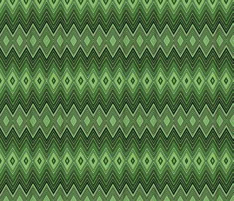 AMAZON DIAMOND CHEVRON fabric by bluevelvet on Spoonflower - custom fabric