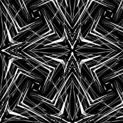 Black and white linear pattern
