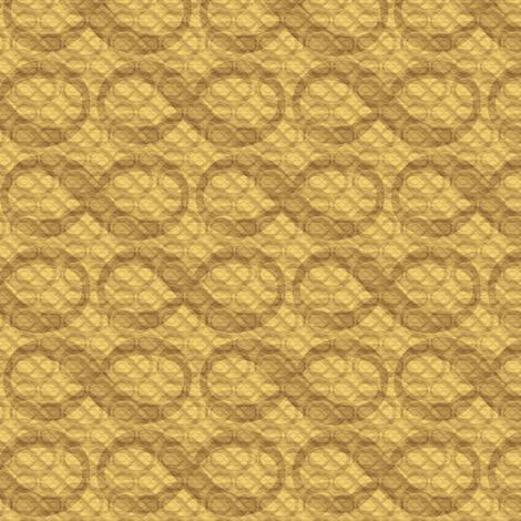 infinite infinities (wheat) fabric by weavingmajor on Spoonflower - custom fabric