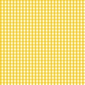 gingham mustard yellow