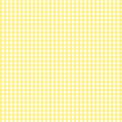 gingham lemon yellow
