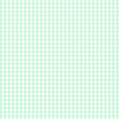 gingham ice mint green
