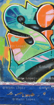 Graffitti Wall  1 Left