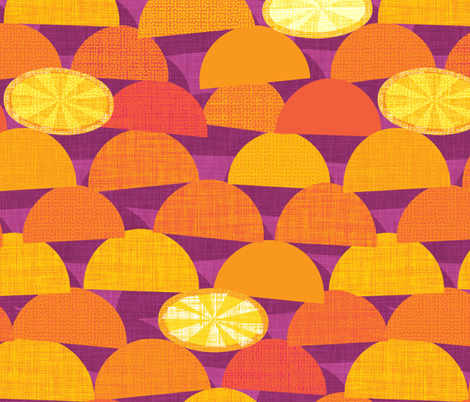 Squeeze Me.Plum fabric by spellstone on Spoonflower - custom fabric