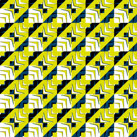 houndstooth echo firefly synergy0001 fabric by glimmericks on Spoonflower - custom fabric