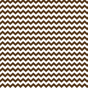 brown chevron i think i heart u