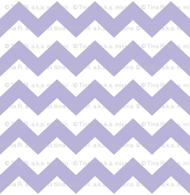 light purple chevron i think i heart u
