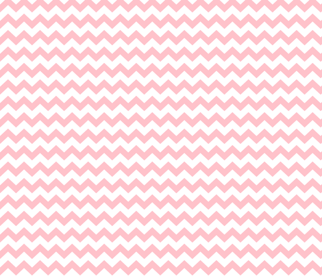 light pink chevron i think i heart u fabric by misstiina on Spoonflower - custom fabric