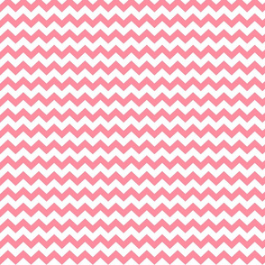 pretty pink chevron i think i heart u