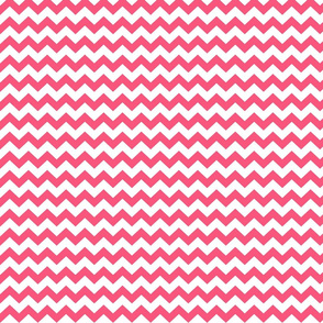 hot pink chevron i think i heart u