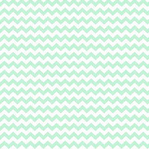 ice mint green chevron i think i heart u