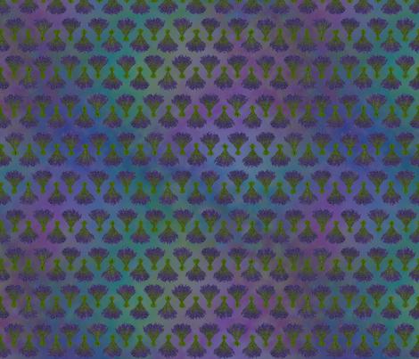 sequim lavender bundles spirit fabric by renneemiko on Spoonflower - custom fabric