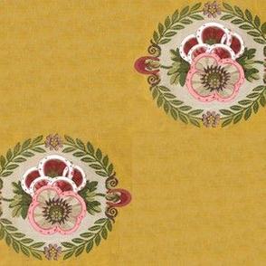 Horseshoe Floral Medallions