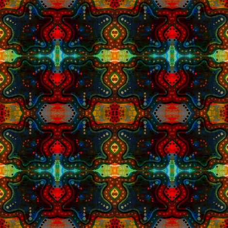 Three Dee fabric by loriwierdesigns on Spoonflower - custom fabric