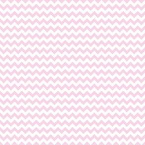 Baby Pink Mini Chevron