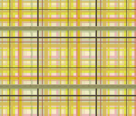 Molly and Marlow fabric by lisabarbero on Spoonflower - custom fabric