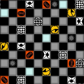 TIME TRAVEL CHECKERS SYNERGY0007