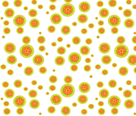 Citrus Slices fabric by ravynscache on Spoonflower - custom fabric