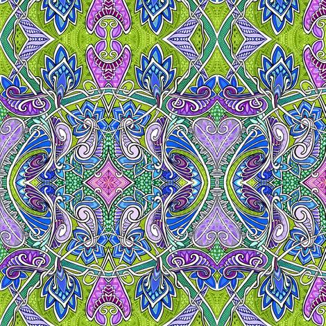 Unique Faux Batik fabric by edsel2084 on Spoonflower - custom fabric