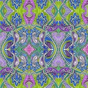 Unique Faux Batik