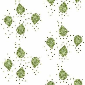 Regency Four Falling Leaves Moss