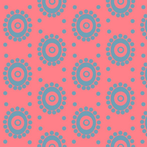 Spots on Pink