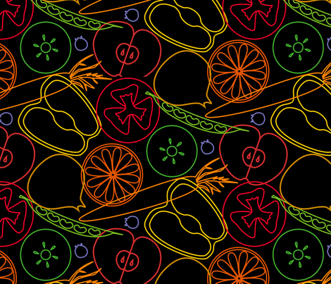 in my basket fabric by mariao on Spoonflower - custom fabric